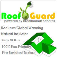 Roofguard – roof paint from Breathecoat Nanotek